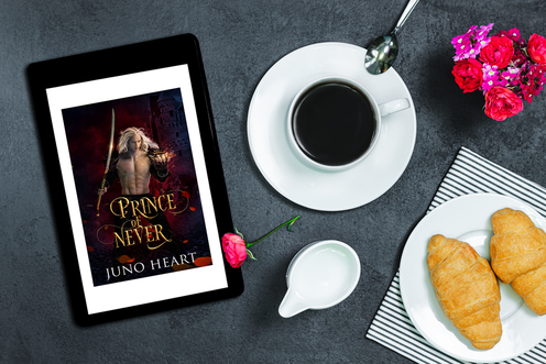 Prince of Never (Black Blood Fae Book 1) by Juno Heart